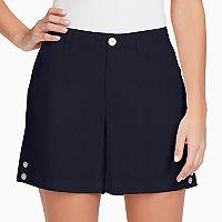 Women's Gloria Vanderbilt Violet Twill Shorts