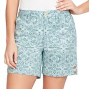 Women's Gloria Vanderbilt Violet Twill Shorts