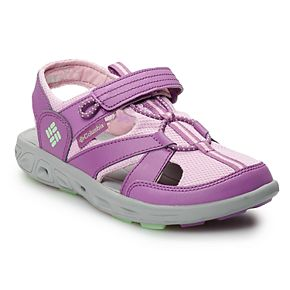 Columbia Techsun Wave Girls' Water-Resistant Fisherman Sandals
