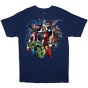Boys 8-20 Marvel Comics Heroes Tee