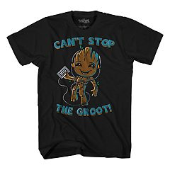 Boys 8-20 Guardians of the Galaxy Groot Tee
