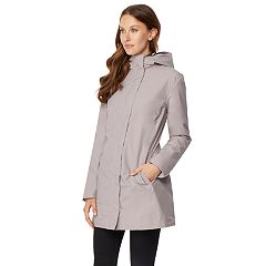 Women's HeatKeep Dynamic Storm Tech Hooded Long Rain Jacket