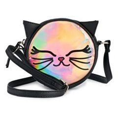 Animal Hologram Canteen Crossbody Bag
