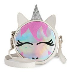 Animal Hologram Canteen Crossbody Bag