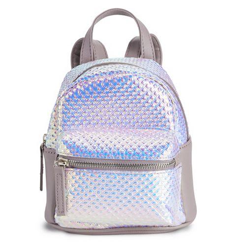 OMG Accessories Hologram Mini Backpack