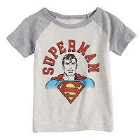 Toddler Boy Jumping Beans® Marvel Super-Man Raglan Graphic Tee