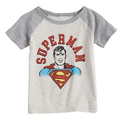 Toddler Boy Jumping Beans® Marvel Super-Man Raglan Graphic Tee