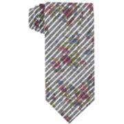 Men's Croft & Barrow® Floral Skinny Tie