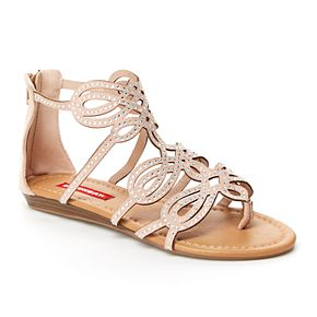 Unionbay Lindy Women's Rhinestone Gladiator Sandals