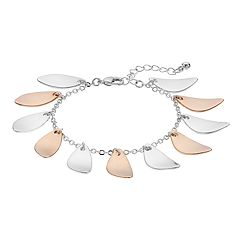 Two Tone Petal Bracelet
