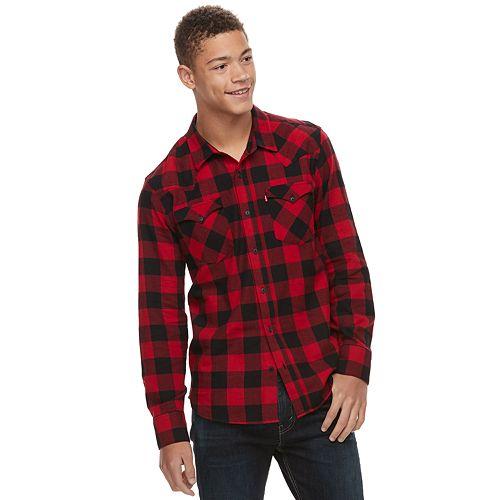Men's Levi's Lassen Buffalo Plaid Button-Down Shirt