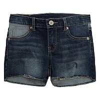 Girls 7-16 Levi's Frayed Shorty Shorts