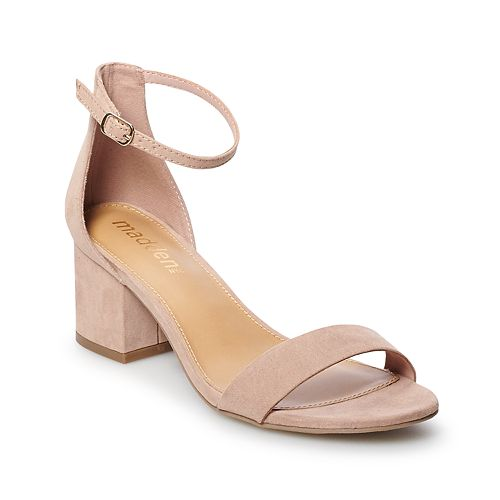 madden NYC Isabel Women's Block Heel Dress Sandals