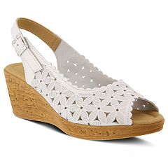 Spring Step Malana Women's Slingback Wedges