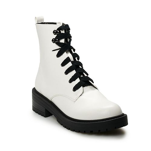 madden NYC Asher Women's Combat Boots