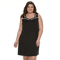 Plus Size Croft & Barrow® Printed Nightgown