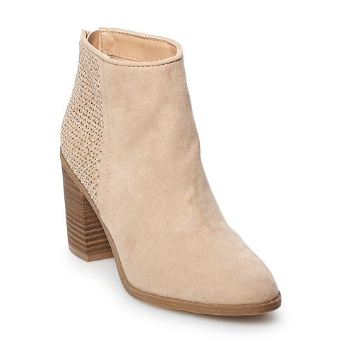 madden NYC Rain Women's High Heel Ankle Boots