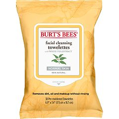 Burt's Bees Facial Cleansing Towelettes - White Tea