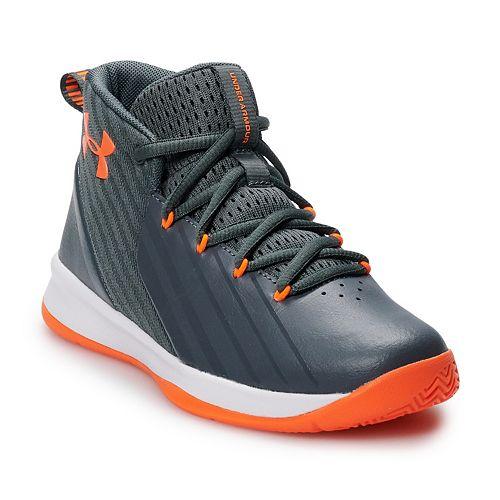 b41d437b526f Under Armour Lockdown 3 Preschool Kids  Basketball Shoes