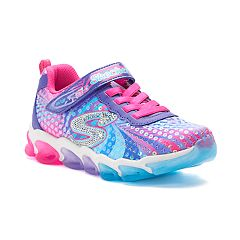 2f3fdc948457 Skechers S Lights Jelly Beams Girls  Light Up Sneakers