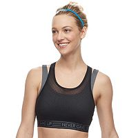 Tek Gear® Mesh Overlay Medium-Impact Sports Bra