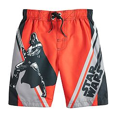 Boys 4-7 Star Wars Darth Vader Swim Trunks