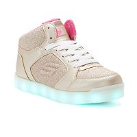 Skechers S Lights Energy Lights E-Pro Glitter Glow Girls' Light Up Sneakers
