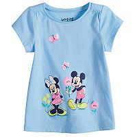 Disney's Mickey & Minnie Mouse Baby Girl Graphic Tee by Jumping Beans®