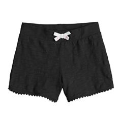Toddler Girl Jumping Beans® Pom-Pom Trim French Terry Shorts