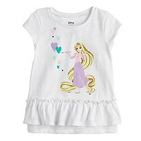 Disney's Rapunzel Toddler Girl Glittery Graphic Tee by Jumping Beans®