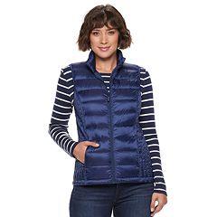 Women's Heat Keep Solid Down Puffer Vest