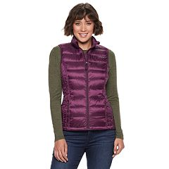 Women's Heat Keep Solid Down Puffer Vest
