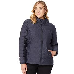 Plus Size HeatKeep Lightweight Packable Down Jacket