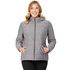 Plus Size HeatKeep Lightweight Packable Down Jacket