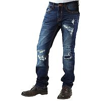 Men's True Luck Tommy Vintage Slim-Fit Jeans