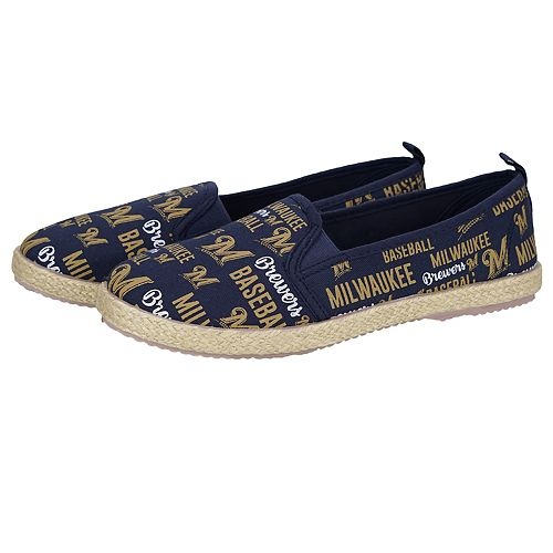 Women's Forever Collectibles Milwaukee Brewers Espadrilles