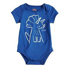 Baby Boy Jumping Beans® 'Roar' Dino Graphic Softest Bodysuit