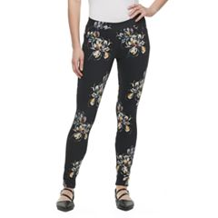 Women's Utopia by HUE Fusion Floral Print Leggings