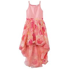 Girls 7-16 Speechless Sateen Bodice Maxi Dress