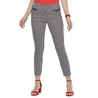 Juniors' Joe B Zipper Pocket Ankle Pants