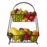 Gourmet Basics Marketplace 2 tier Basket