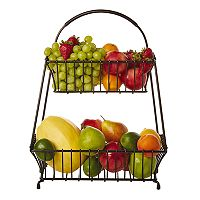 Gourmet Basics Marketplace 2 tier Basket