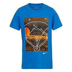 Boys 4-7 Nike Photo Baseball Diamond Graphic Tee