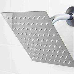 Sunbeam Stainless Steel Square Rainfall Shower Head