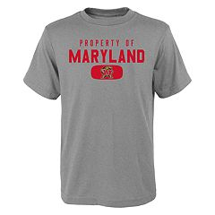 Boys 4-18 Maryland Terrapins Property Of Tee