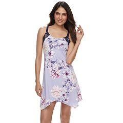 Women's Apt. 9® Floral Handkerchief Hem Chemise