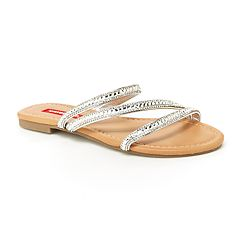 Unionbay Peace Women's Studded Slide Sandals