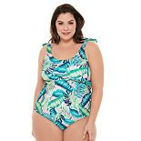 Plus Size Costa Del Sol One-Piece Swimsuit