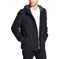 Men's Levi's® Wool-Blend Four-Pocket Hooded Military Jacket
