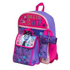 Disney's Vampirina Kids Backpack, Cinch Sack, Lunch Bag, Zip Pouch & Water Bottle Set